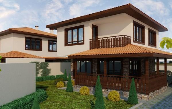 Еднофамилна жилищна сграда Пловдив