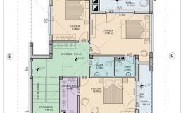 Разпределение-втори-етаж-еднофамилна-къща-червен
