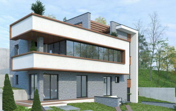 Модерна еднофамилна къща