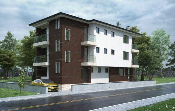 Жилищна сграда в Долни Воден
