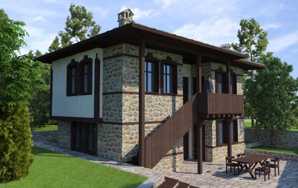 Комплекс от къщи за гости в с. Врата