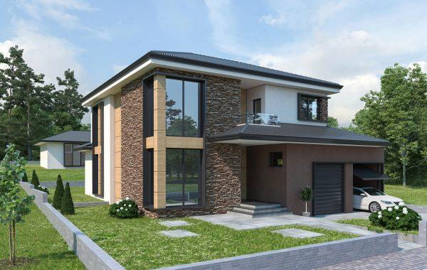 Еднофамилна къща с гараж с. Мулдава