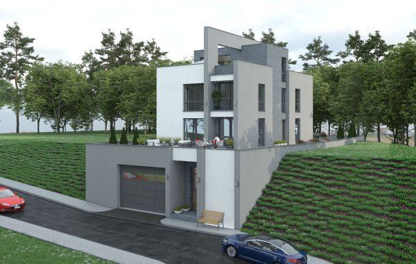 Еднофамилна къща с гараж в Горни Воден