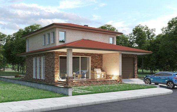 Еднофамилна къща с. Брестник