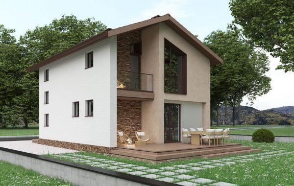 Еднофамилна къща с. Долнослав