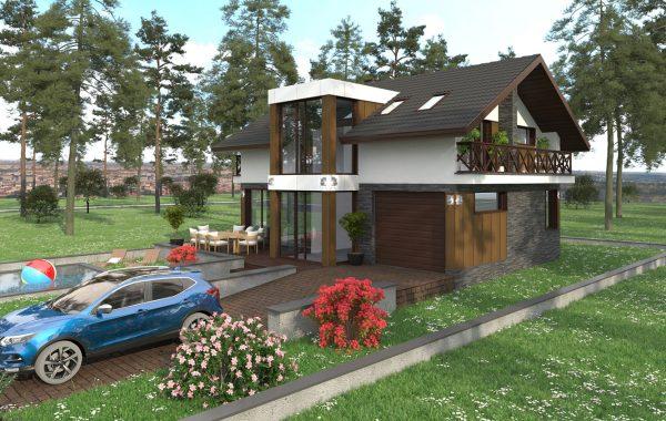 Еднофамилна къща с. Златовръх