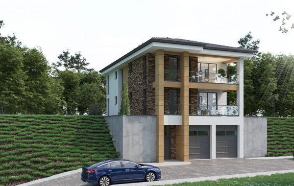 Жилищна сграда с гаражи в Асеновград
